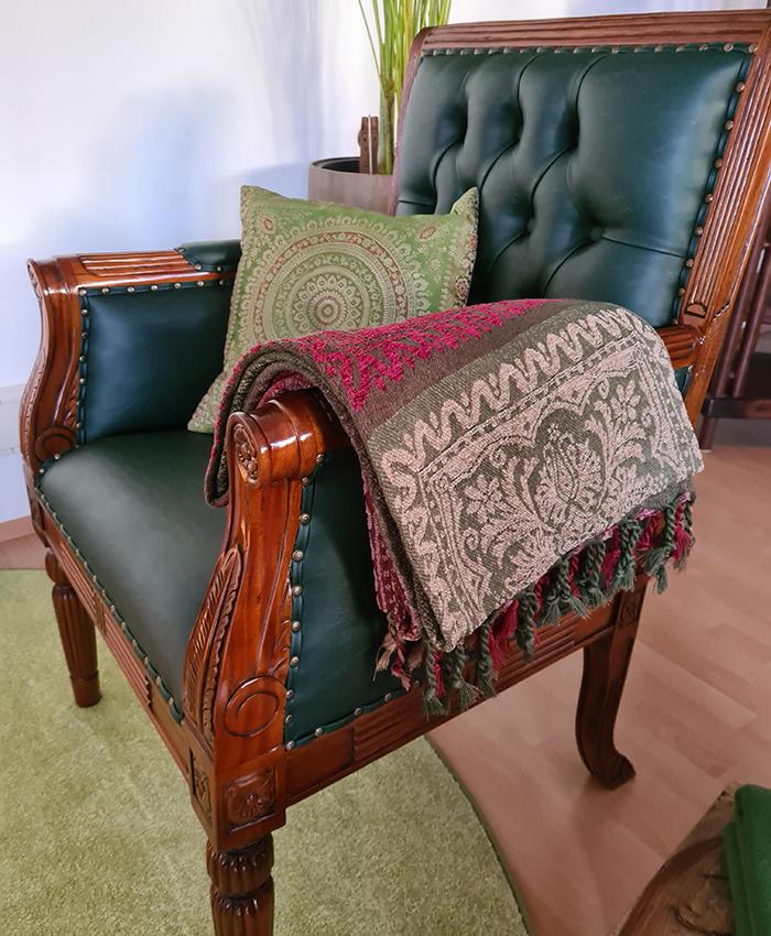 Bequemer Sessel in der Praxis Eisenstadt
