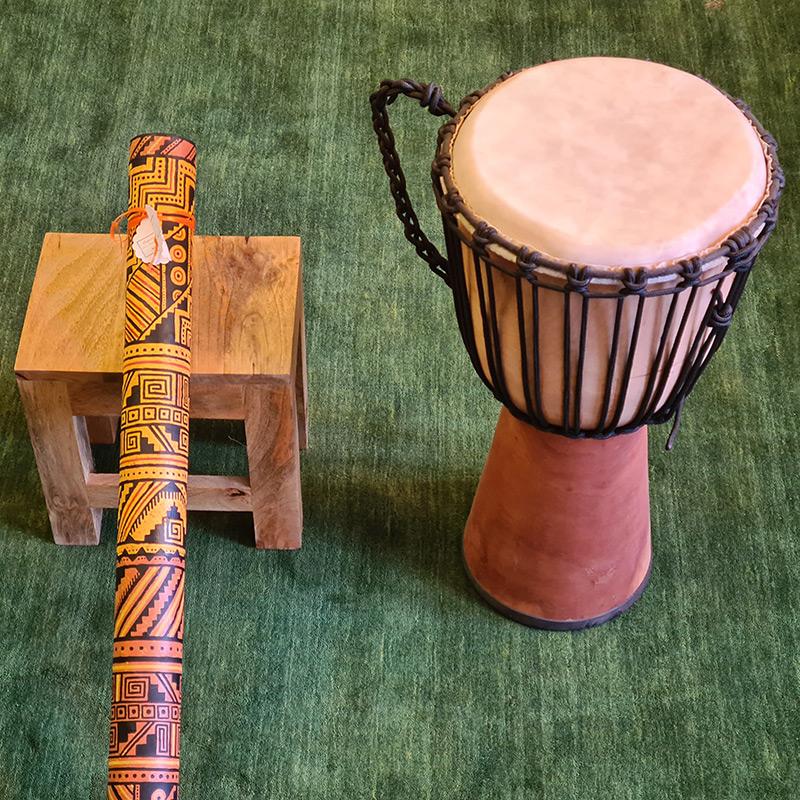 Musikinstrumente in der Praxis Maria Neuberger in Eisenstadt