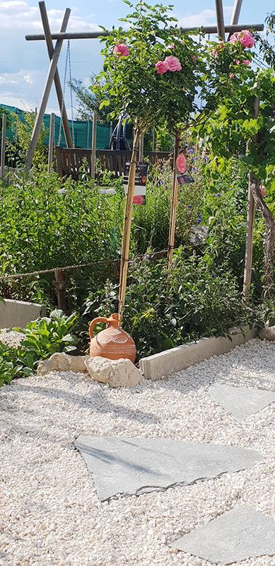 Rosengarten am Caprahof