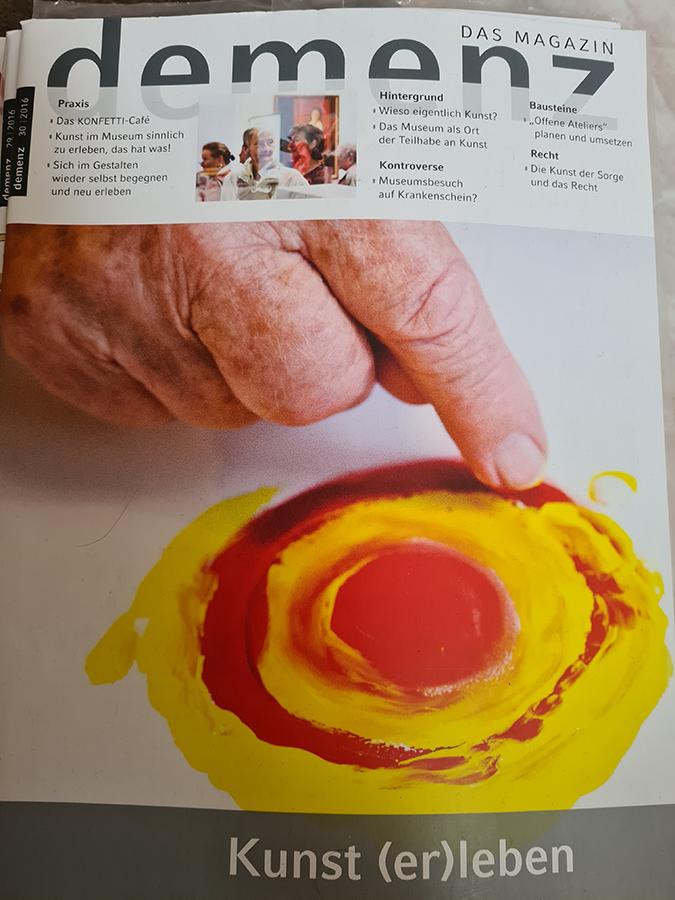 Cover Demenz Magazin